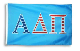 Alpha Delta Pi 3 X 5 USA Flag