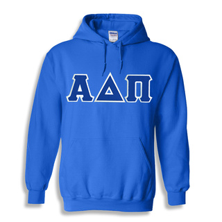 Alpha Delta Pi $45 Lettered Greek Hoodie- MADE FAST!