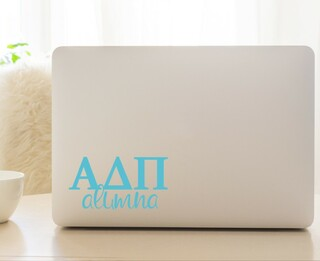 Alpha Delta Pi Alumna Decal