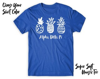 Alpha Delta Pi Pineapple Tee