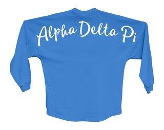 Alpha Delta Pi Script Jersey