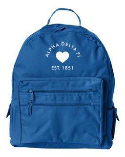 DISCOUNT-Alpha Delta Pi Mascot Backpack