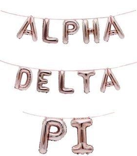 Alpha Delta Pi Banner Balloon Set