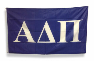 Alpha Delta Pi Big Greek Letter Flag