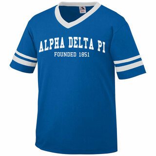 Alpha Delta Pi Boyfriend Style Founders Jersey