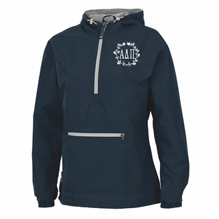Alpha Delta Pi Chatham Anorak Solid Pullover