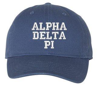 Alpha Delta Pi Comfort Colors Pigment Dyed Baseball Cap