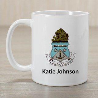 Alpha Delta Pi Crest Coffee Mug - Personalized!