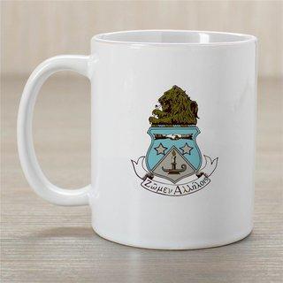 Alpha Delta Pi Crest Coffee Mug