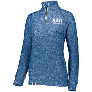 Alpha Delta Pi Cuddly 1/4 Zip Pullover