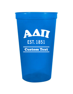 Alpha Delta Pi Custom Greek Cooper Stadium Cup