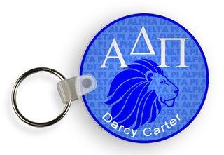 Alpha Delta Pi Custom Mascot Keychains