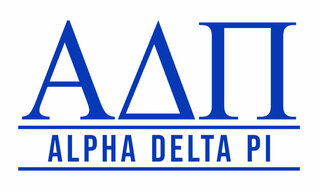 Alpha Delta Pi Custom Sticker - Personalized