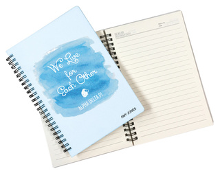 Alpha Delta Pi Custom Watercolor Notebooks
