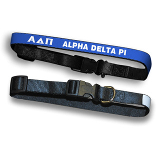 Alpha Delta Pi Dog Collar