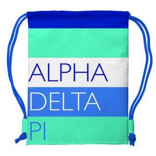 Alpha Delta Pi Drawstring Backpack