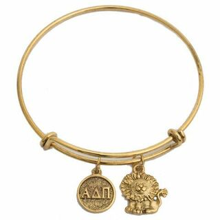 Alpha Delta Pi Expandable Bracelet