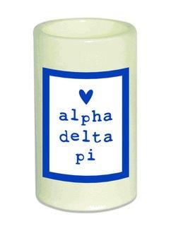 Alpha Delta Pi Flameless Candle