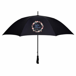 Alpha Delta Pi Floral Umbrella