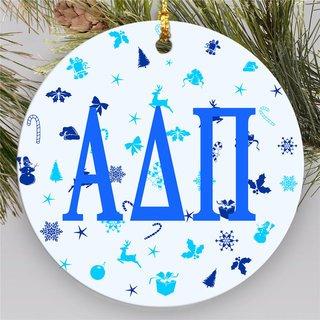 Alpha Delta Pi Holiday Cheer Ornaments