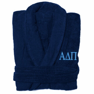 Alpha Delta Pi Greek Letter Bathrobe