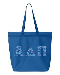 Alpha Delta Pi Greek Letter Liberty Bag