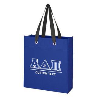 Alpha Delta Pi Grommet Tote Bag