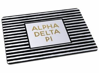 Alpha Delta Pi Striped Mousepads