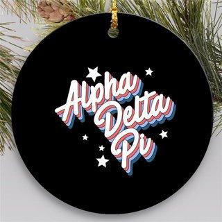 Alpha Delta Pi Holiday Flashback Ornaments