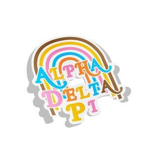 Alpha Delta Pi Joy Decal Sticker