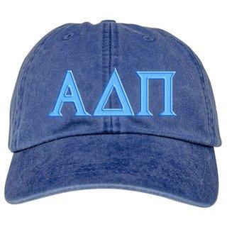 Alpha Delta Pi Lettered Premium Pastel Hat