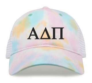 Alpha Delta Pi Lettered Rainbow Cap