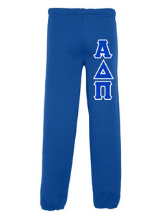 Alpha Delta Pi Lettered Sweatpants