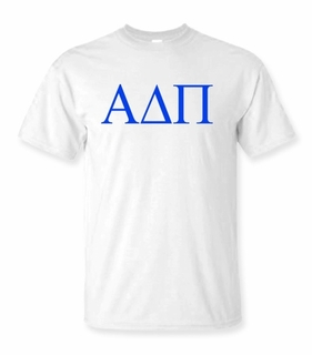 Alpha Delta Pi Lettered Tee - $9.95 - MADE FAST!