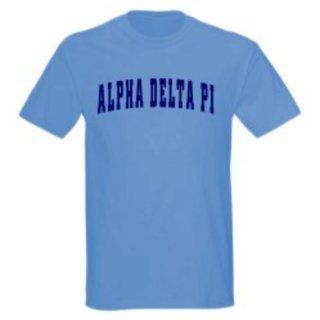 Alpha Delta Pi Letterman T-Shirts