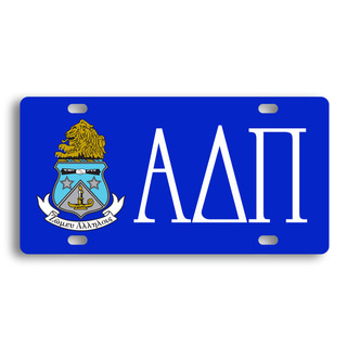 Alpha Delta Pi License Cover