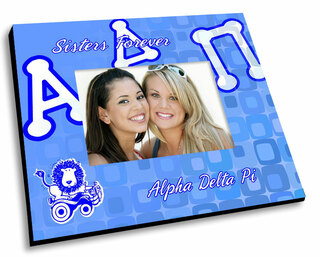 Alpha Delta Pi Mascot Color Picture Frame
