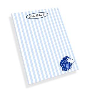 Alpha Delta Pi Mascot Notepad