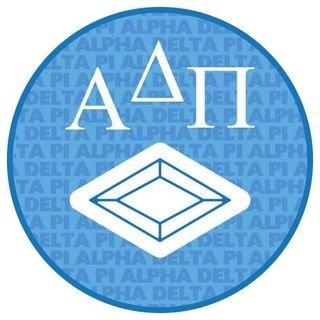 Alpha Delta Pi Mascot Round Decals