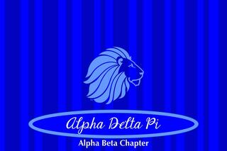 Alpha Delta Pi Mascot Tablecloth