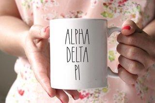 Alpha Delta Pi MOD Coffee Mug