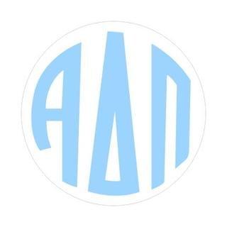 Alpha Delta Pi Monogram Decal