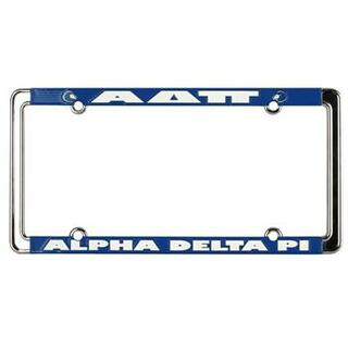 Alpha Delta Pi New Design License Plate Frame