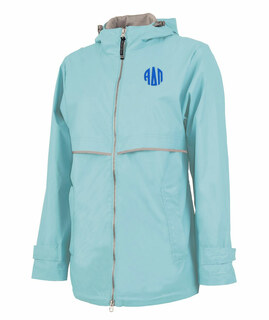 Alpha Delta Pi New Englander Circle Monogram Rain Coat