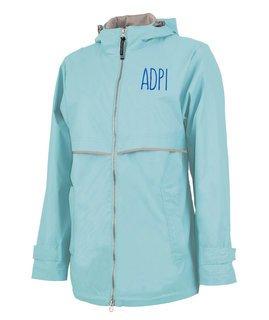 Alpha Delta Pi New Englander Nickname Rain Coat