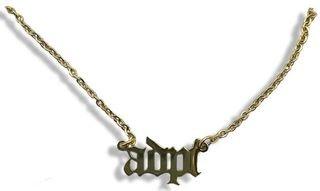 Alpha Delta Pi Old English Necklaces