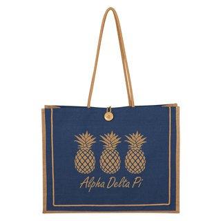 Alpha Delta Pi Paradise Jute Bag