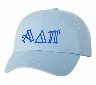 Alpha Delta Pi Peppermint Polkadots Sorority Line Hat