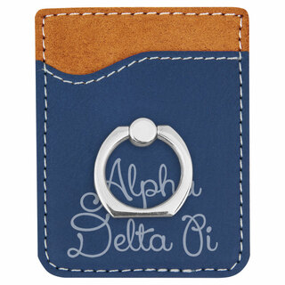 Alpha Delta Pi Phone Wallet with Ring