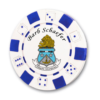Alpha Delta Pi Poker Chips